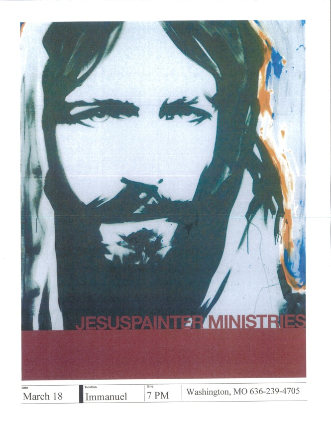 Immanual Lutheran Washington poster 1
