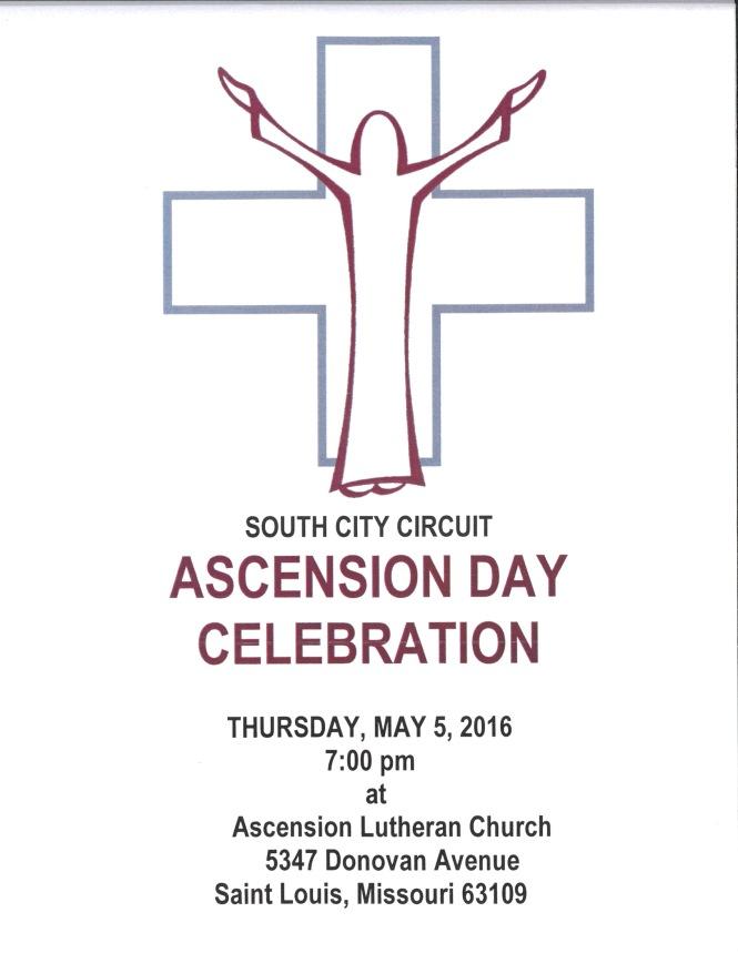 Ascension Lutheran ascension service