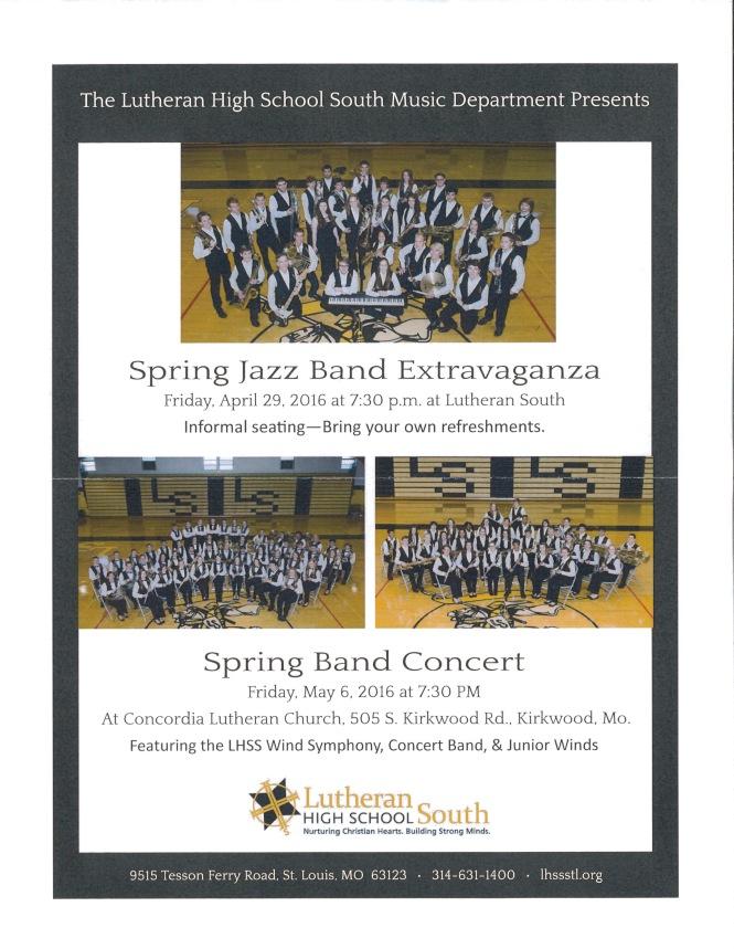 LHSS Band Extravaganza