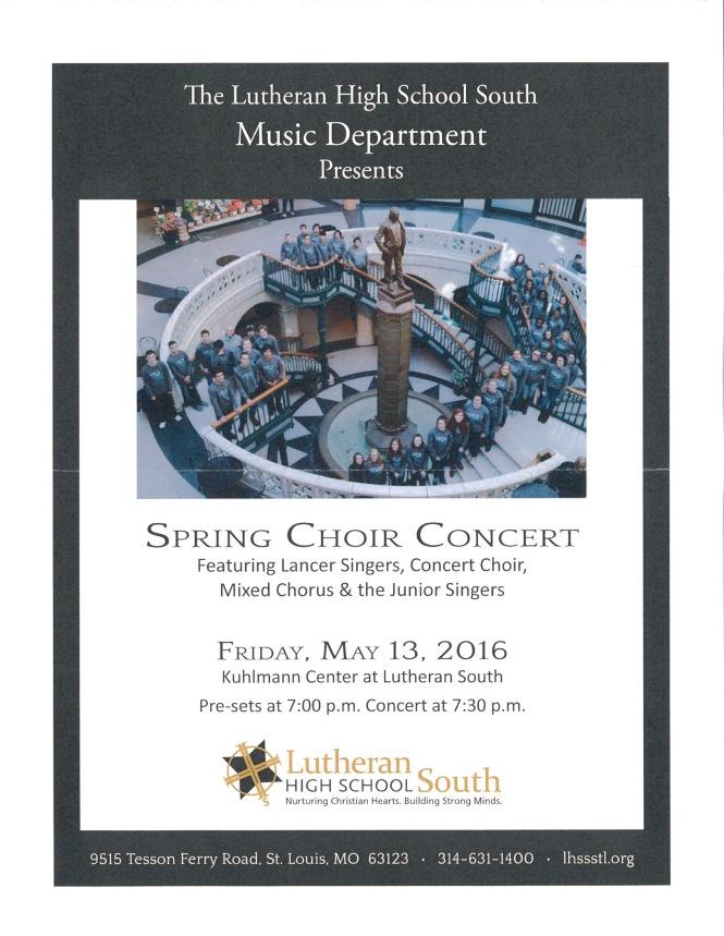 LHSS Choir Concerts