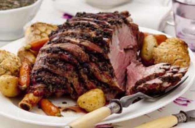 Seder Meal lamb dinner