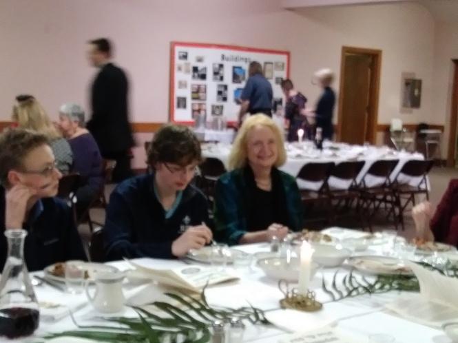 2018 Seder Meal Gillian