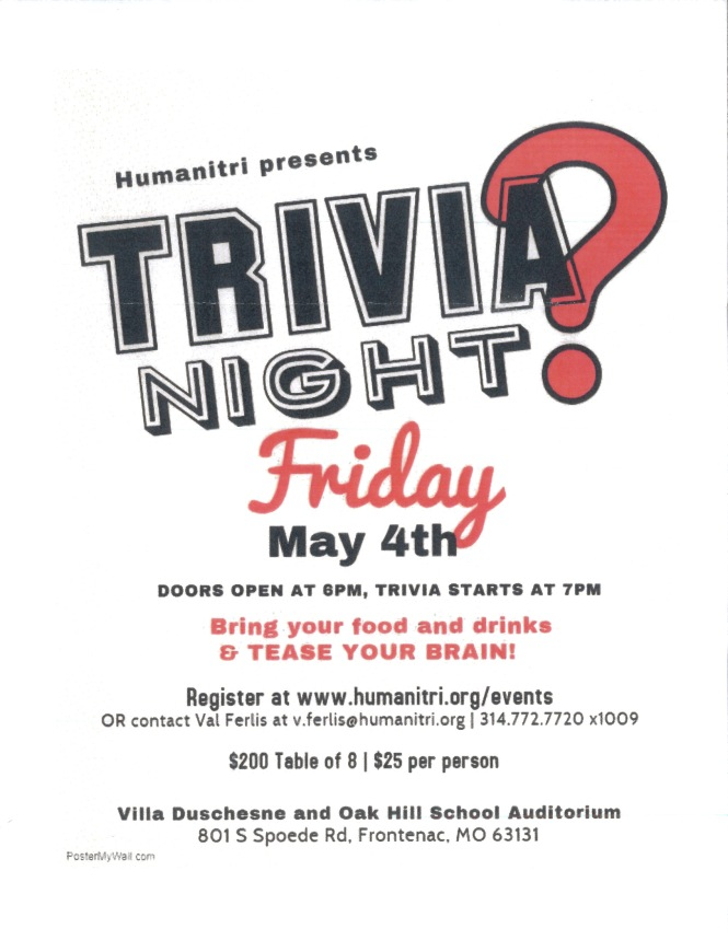 Humanitri Trivia Night 2018
