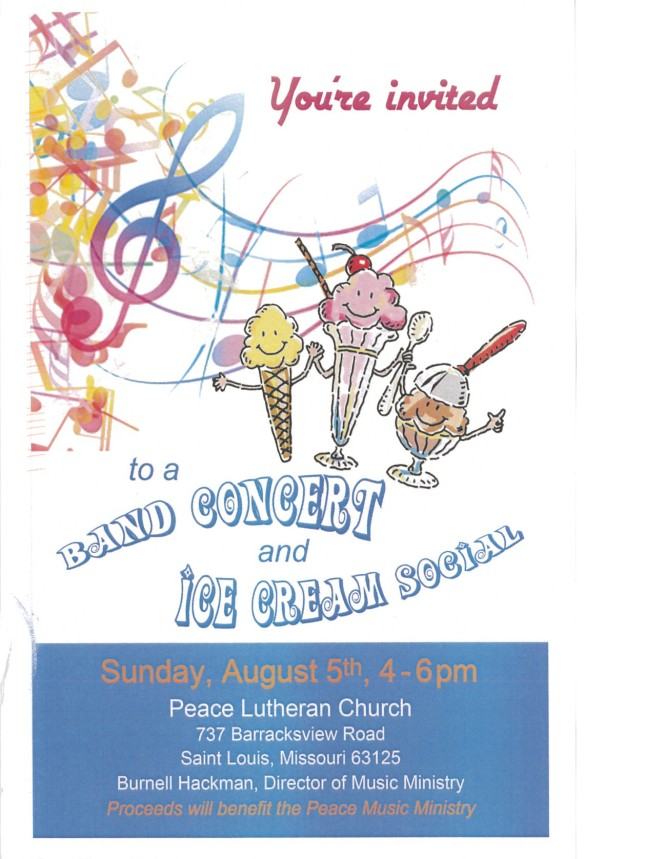 2018 Summer Concert at Peace Lutheran