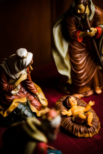 A nativity scene on Monday, Dec. 10, 2018, at Concordia Lutheran Church, Maplewood, Mo. LCMS Communications/Erik M. Lunsford