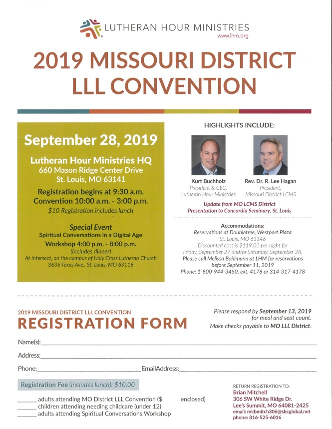 2019 LLL Convention